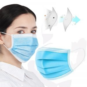 50,000 Unit 3PLY Disposable Mask