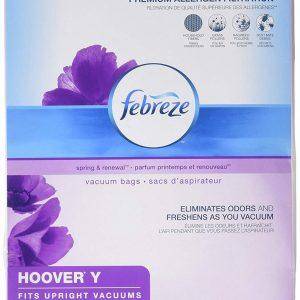 Febreze Vacuum Bags Hoover Style Y 3 Bags (2 pack)